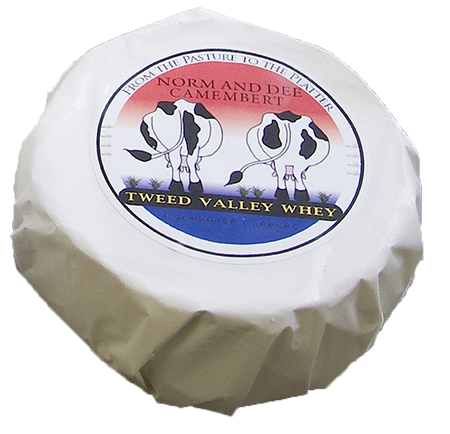 Tweed Valley Whey Farmhouse Cheese Camenbert Cheese